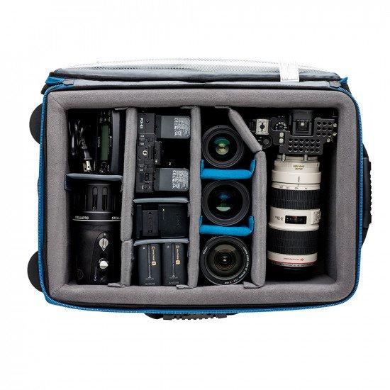Tenba Transport Air Case Attache 2214w - удароустойчив куфар с колелца за фото и видео оборудване